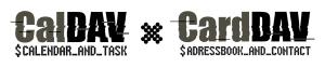 carddav_vs_caldav_logo